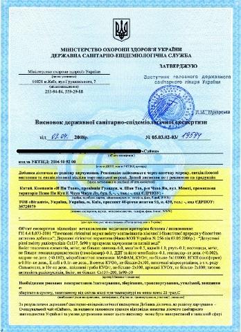 Лицензия на торговлю косметики